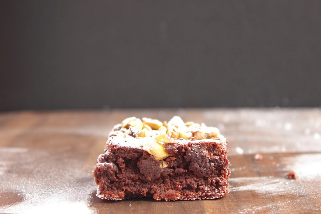 chestnut chocolate brownies