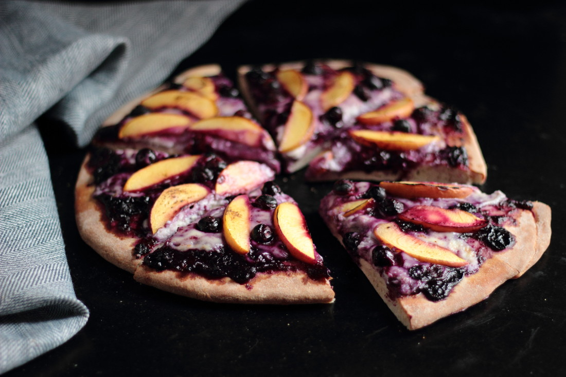 blueberry pizza 1