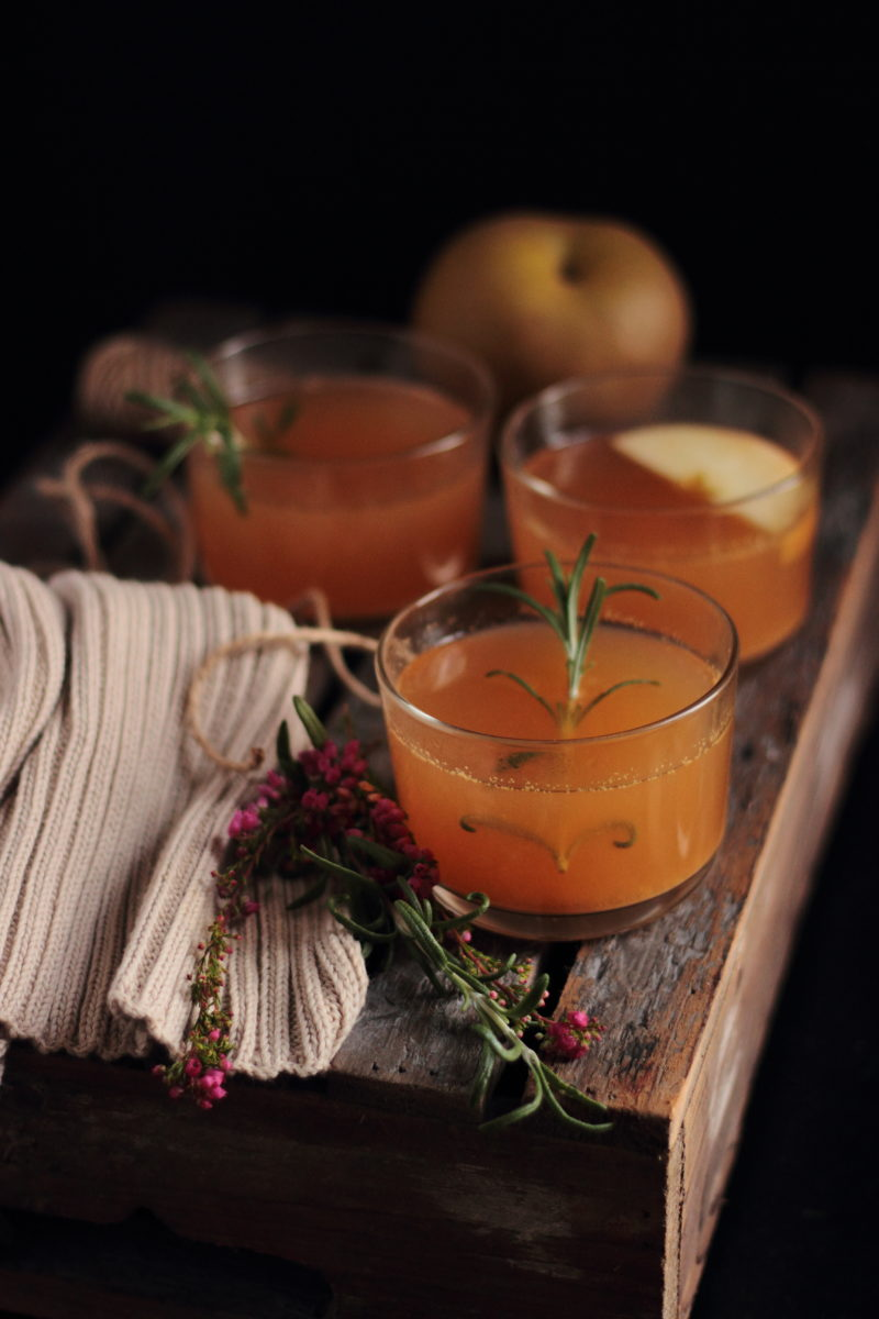 hot apple and ginger